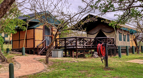 Mpila Camp Chalets Safari Tents Self Catering Accommodation Hluhluwe iMfolozi uMfolozi Game Reserve KZN South Africa