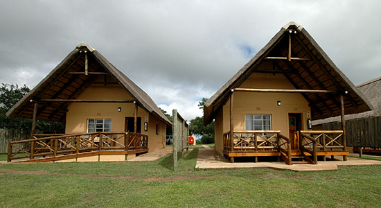 Mpila Camp 2 bed Chalets Self-Catering Accommodation Hluhluwe iMfolozi uMfolozi Game Reserve